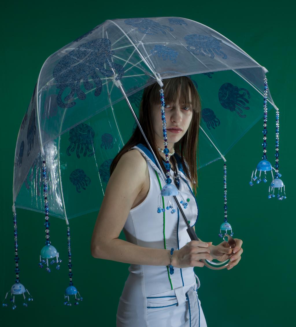 Jellyfish umbrella by pikajane
