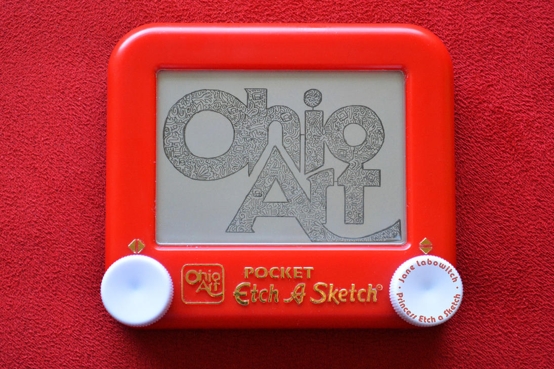 Ohio Art logo Etch A Sketch by pikajane