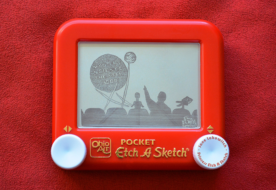 MST3K Etch A Sketch by pikajane