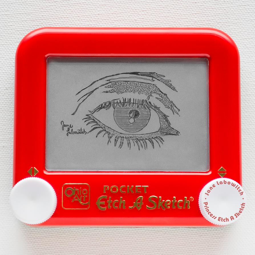 Etch A Sketch Eye by pikajane