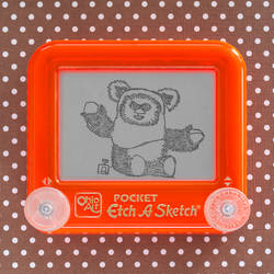 Build A Bear Ewok Etch A Sketch by pikajane