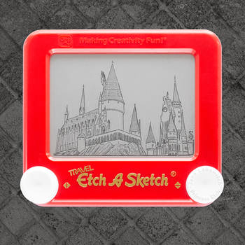 Hogwarts Etch A Sketch