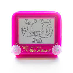 Spongebob Muscle Etch A Sketch