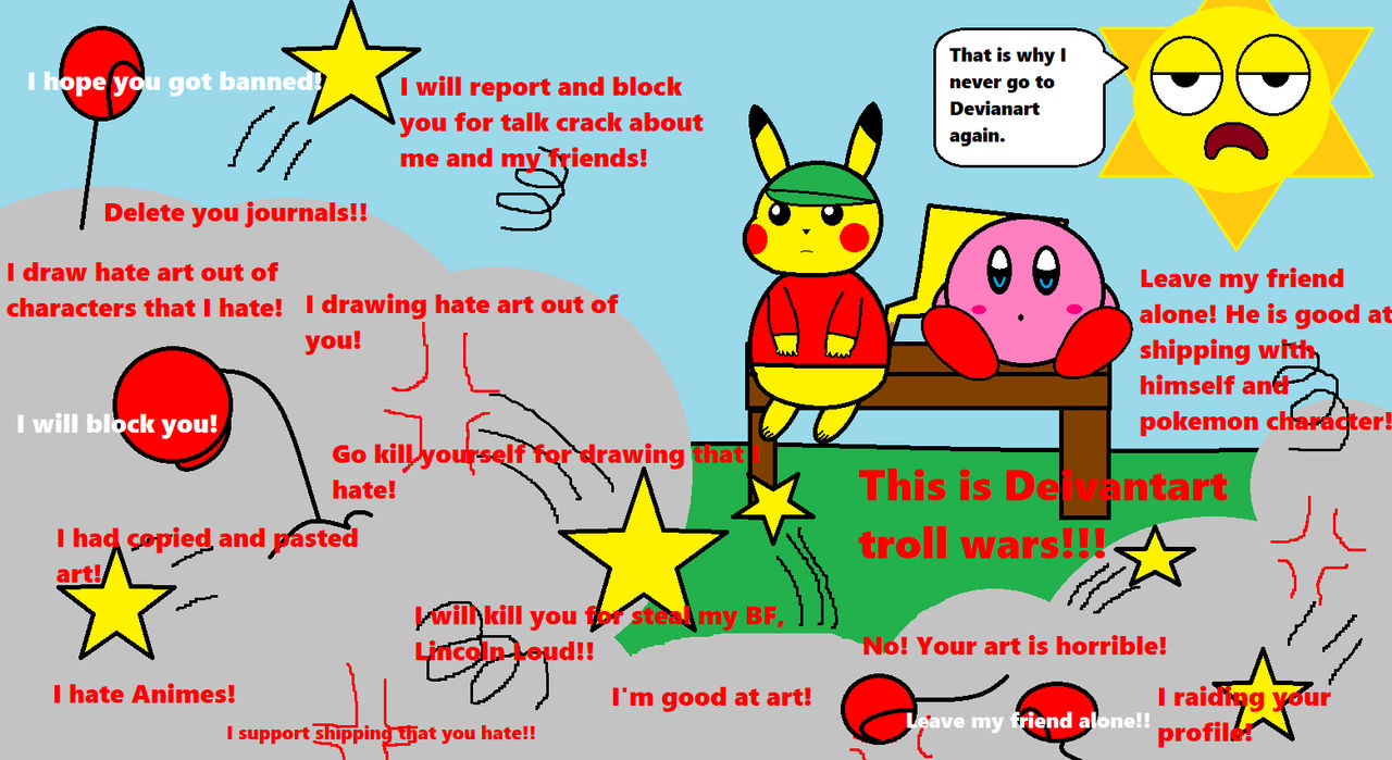Just My Normal Day On Deviantart By Pikachu Drunk 404 On