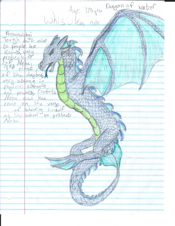 KOTF: whisuka (dragon of water) by satknightcat