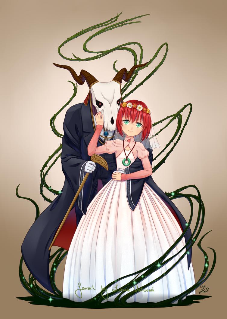 Chise and Elias by Sanaia-art