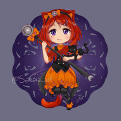 Scarlet by Sanaia-art