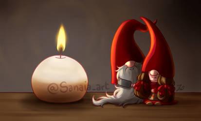 More julenisser by Sanaia-art