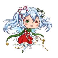 Redrawn: Christmas fairy