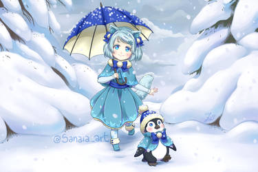 Yuki's snow adventure