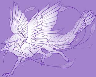Creature WIP by Black-Tea-Dragon