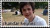 Skandar Keynes .Stamp by AmyRose-Chan