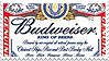 Budweiser .Stamp by AmyRose-Chan
