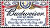 Budweiser .Stamp by AmyRose-Chan