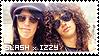 Stamp - Slash x Izzy by AmyRose-Chan