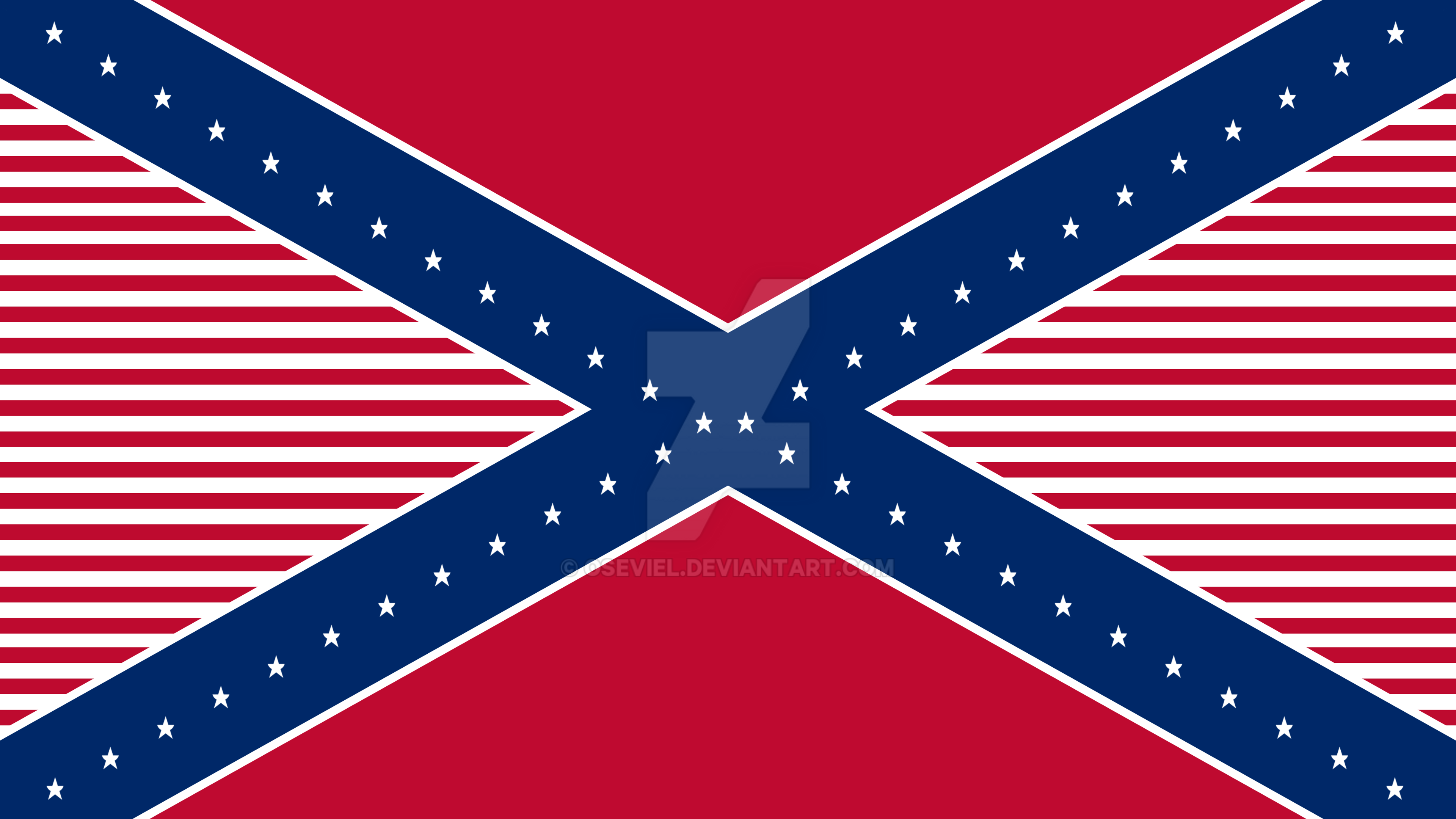 american confederate flag hybrid final by oseviel on deviantart