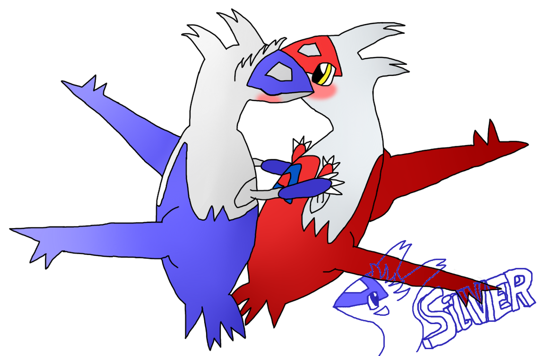latios and latias kiss - photo #8