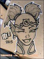 ink work - Takkito wink by mr187