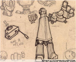 ink work - Endolume 01 by mr187