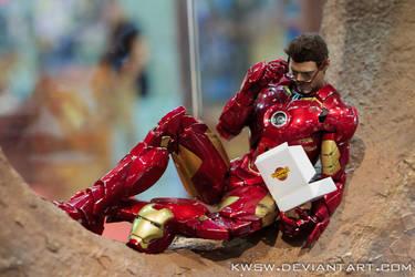 Even Heroes Need A Donut Break...