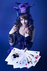 joker cards cosplay by ElenaGrigorenko