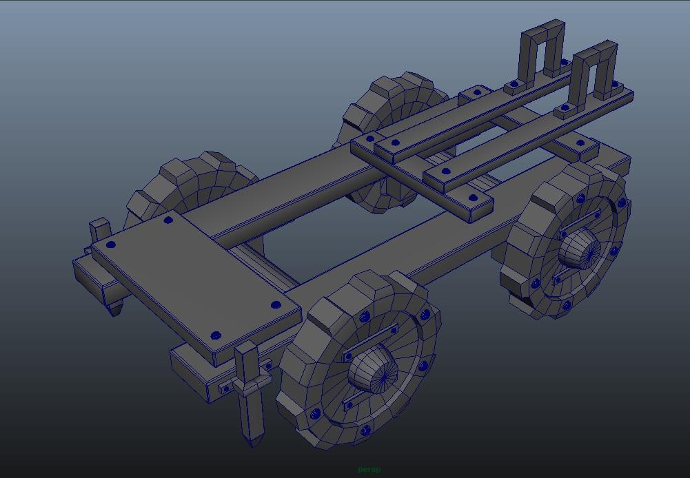 Catapult base - WIP by NinjaDesign