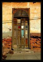 Shadow Across The Quilted Door by escapism