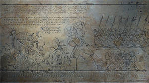 TF - The Catalyst wall relief