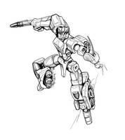 TF - Terrablast - inked by Shinjuchan