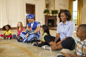 LazyTown at the White House