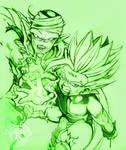 DBZ - Piccolo Gohan Tattoo - Green