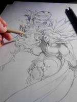 DBZ - Piccolo Gohan Tattoo 1 by Shinjuchan