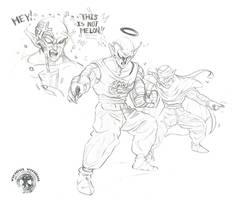 DBZ - Black Halo King Piccolo by Shinjuchan