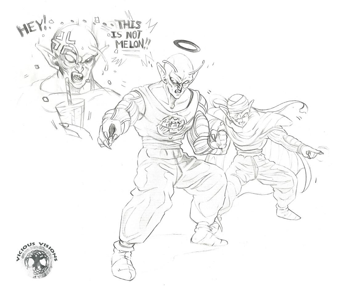 DBZ - Black Halo King Piccolo