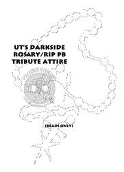 UT Paul Bearer Memorial attire - Beads only by Shinjuchan