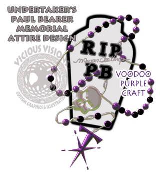 UT Paul Bearer Memorial attire - Voodoo Craft by Shinjuchan