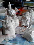 Paper mache Halloween projects 6