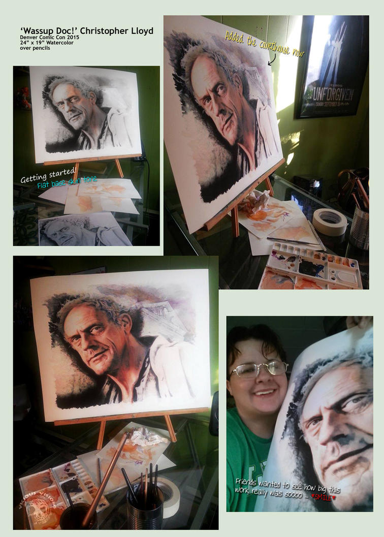 WIP Christopher Lloyd 3 by Shinjuchan