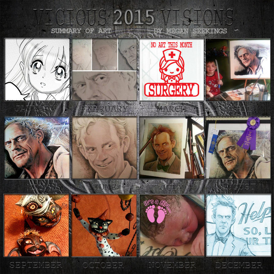 2015 Summary Of Art by Shinjuchan