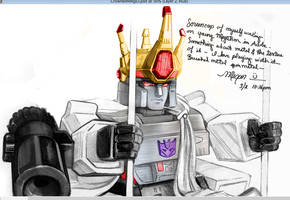 TF - All Hail Megatron! (Vornling) Colors 1 by Shinjuchan