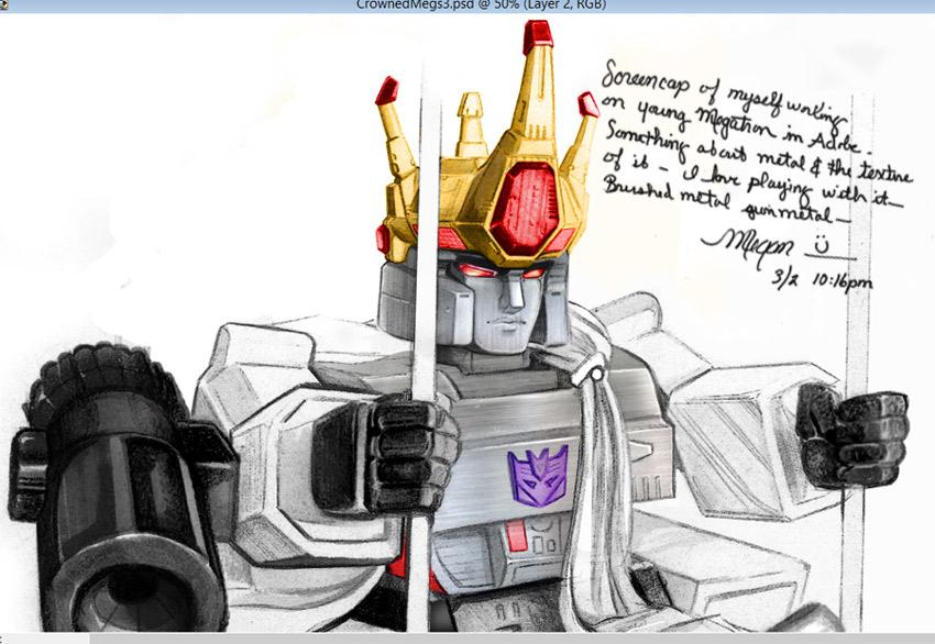 TF - All Hail Megatron! (Vornling) Colors 1 by Shinjuchan
