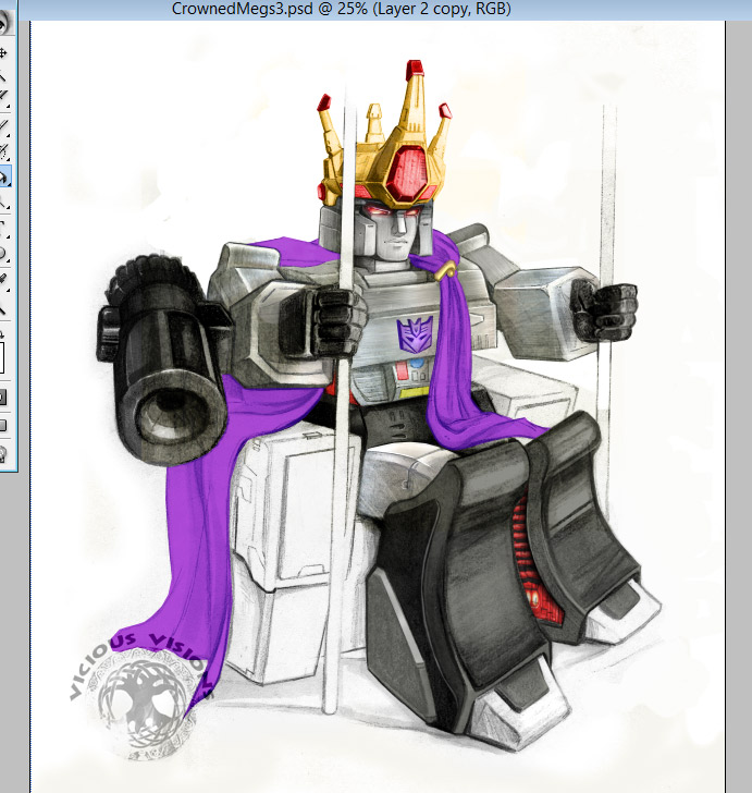 TF - All Hail Megatron! (Vornling) Colors 2