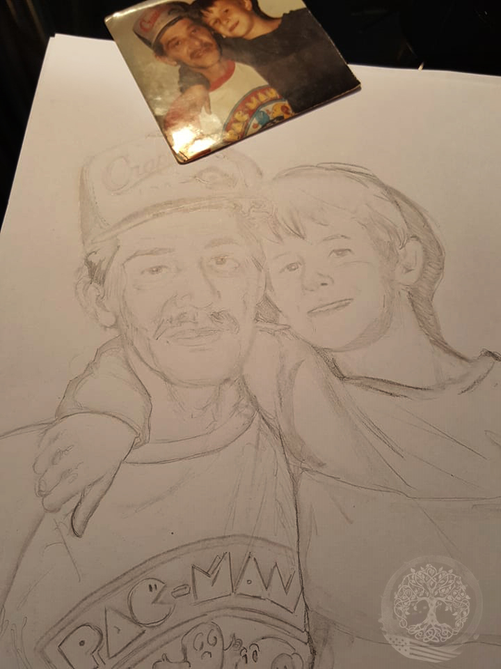 WIP For you my brother (pencils)