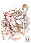 TF - Megatron X Orion Pax by Shinjuchan