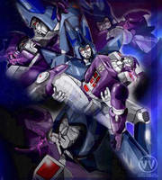 TF - Galvatron x Cyclonus 1 by Shinjuchan