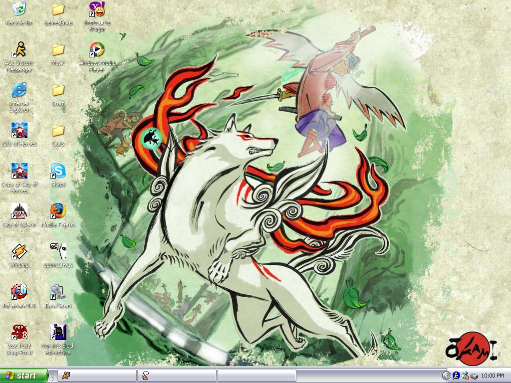 Okami Desktop1 by StardustHorizon