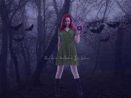 Witch in woods