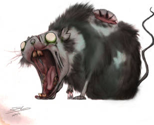 Undead critter by Gagearin
