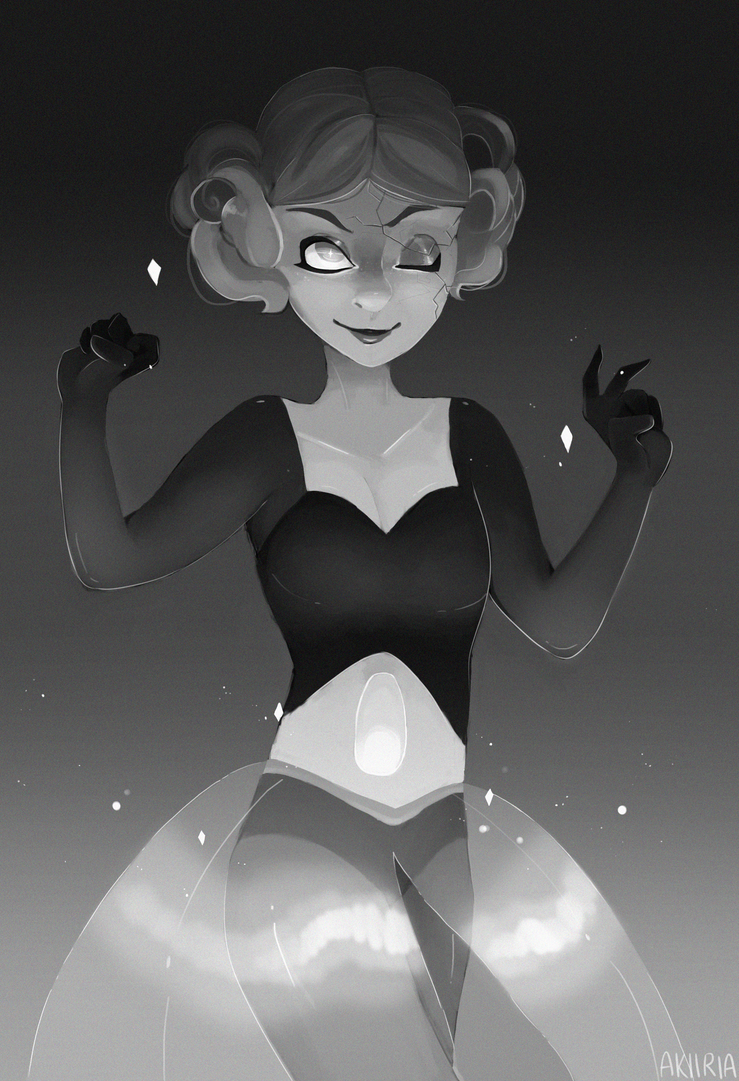 oh my stars White Pearl is fun to draw! I'm happy with how this turned out, i was aiming for a creepy vibe. I had a ton of fun messing around with lighting effects and adding noise with this one C: