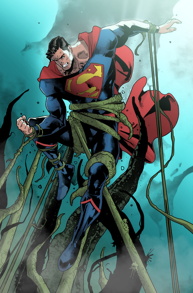 Color Superman by marcopelandraart